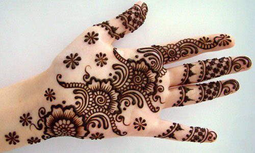 fresh mehndi designs