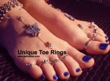 Unique Toe Rings