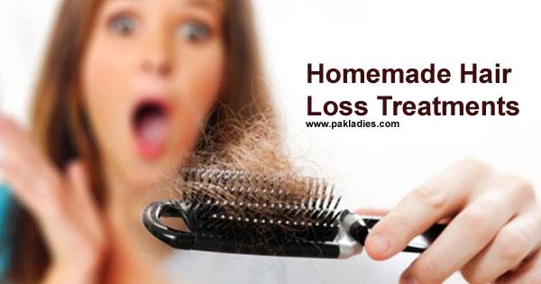 Homemade Hair Loss Treatments