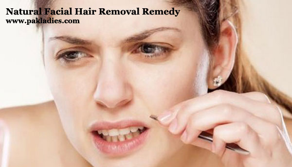 Natural Facial Hair Removal Remedy