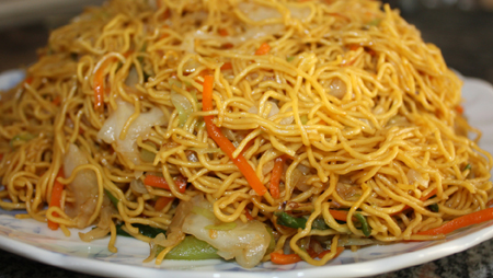 Vegetables Chow Mein
