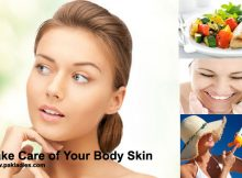 Take Care of Your Body Skin