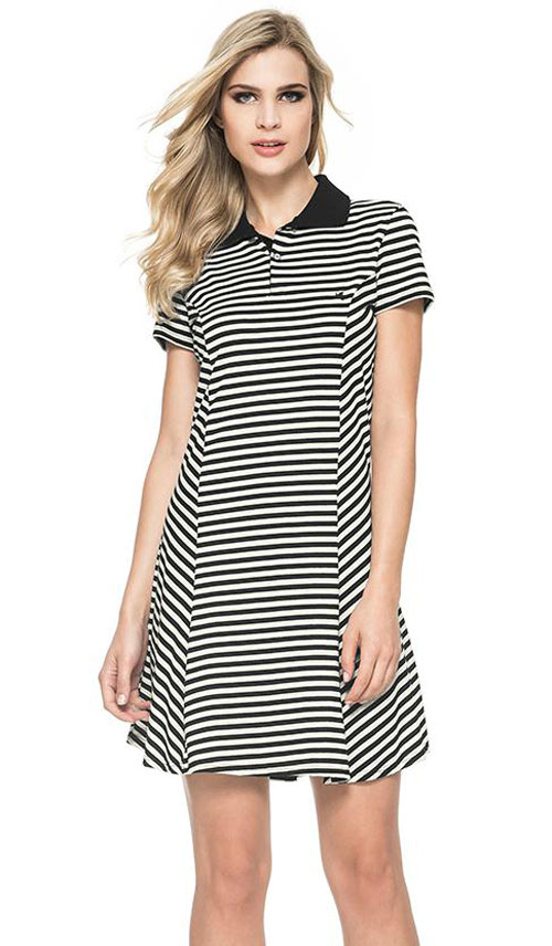 Women Polo Shirt Dresses