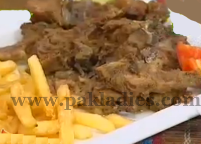 Dum Ky Chops Recipe by Shireen Anwer