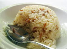 turkish rice pilaf with orzo