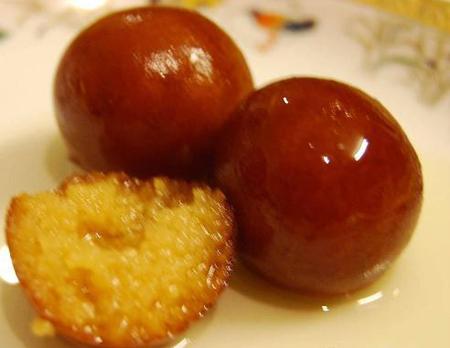 gulab jamun recipe with milk powder