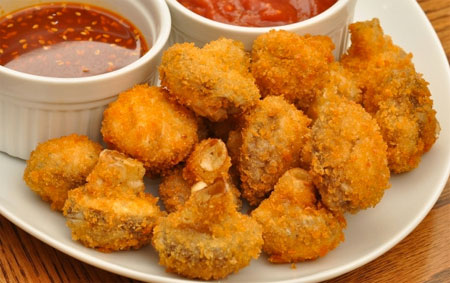 Crispy Fried Mushrooms Recipe