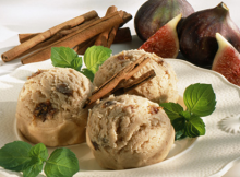 Fig Walnut Ice Cream