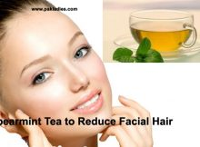 Spearmint Tea to Reduce Facial Hair