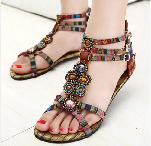 Spring Summer 2016 Trends: Girls Flat Sandals