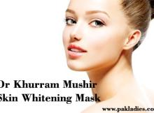 Dr Khurram Mushir Skin Whitening Mask