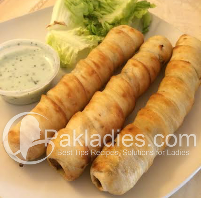 Roly Poly Kebab Roll