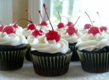 Black Forest Cupcake Easy Recipe