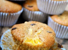 Mango Chocolate Chip Muffins