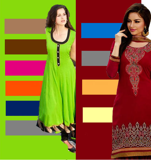 color combinations for apparel