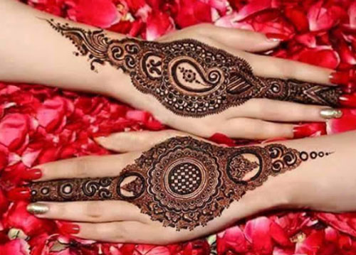 Unique Mehndi Designs 2015