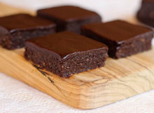 Double Chocolate Frosted Brownies
