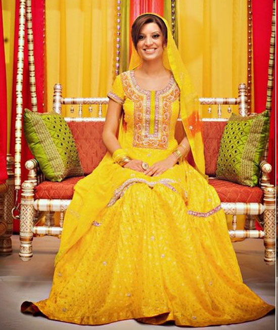 Mehndi Dress for girls