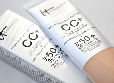 CC cream and SPF