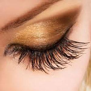 curved eyelashes