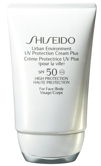 shiseido UV protection