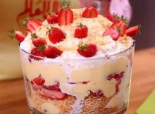Kunafa Strawberry Trifle