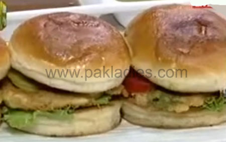 Burns Road kay Bun Kabab Recipe