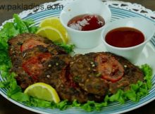 Grilled Chapli Kababs Recipe