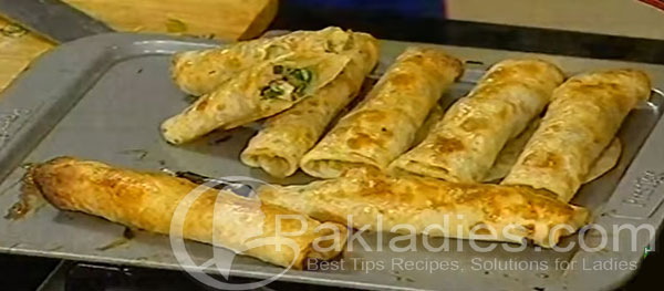 Baked chicken Roll Recipe