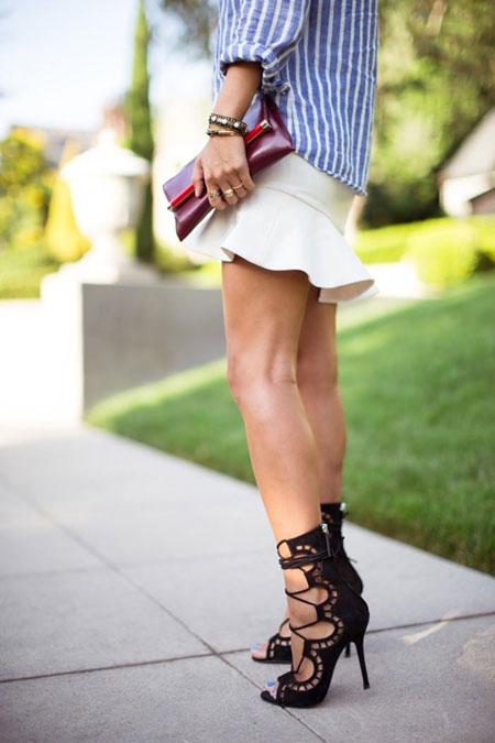 Lace up Sandals Heels