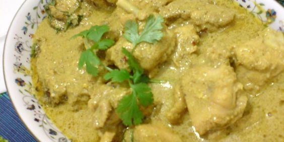 White Chicken Korma Recipe