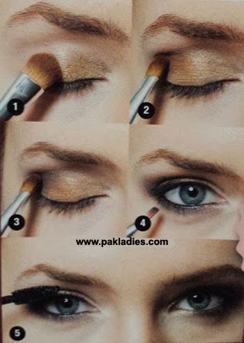 Summer Night Eye Makeup