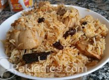 Kashmiri Pulao Authentic Recipe