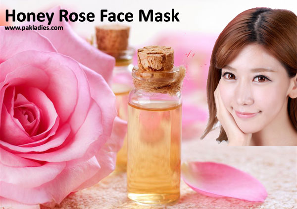 Honey Rose Face Mask
