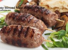 Easy Minced Meat Kebab Recipe