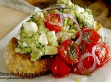 Smashed Avocado Feta Toast