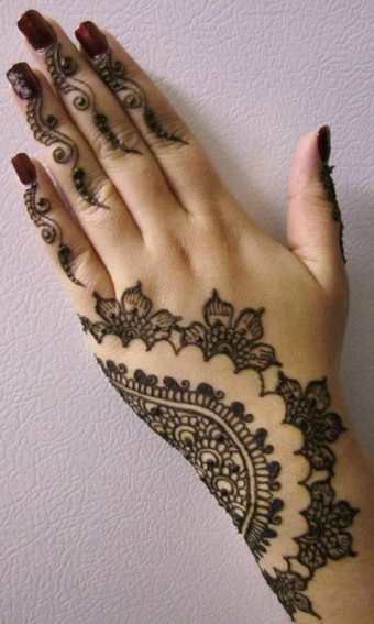 stylish mehndi designs 2014