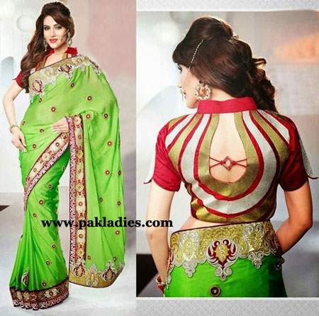Stylish Saree Blouse Designs