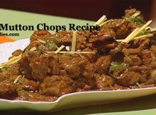 Tawa Mutton Chops Recipe