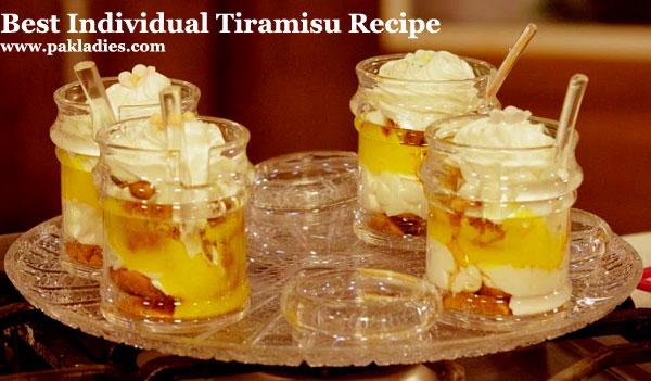 Best Individual Tiramisu Recipe