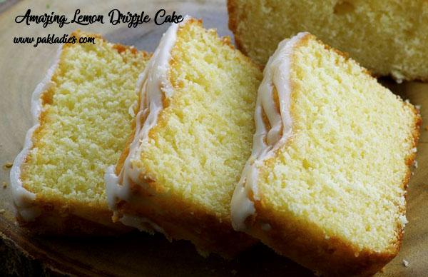 Amazing Lemon Drizzle Cake