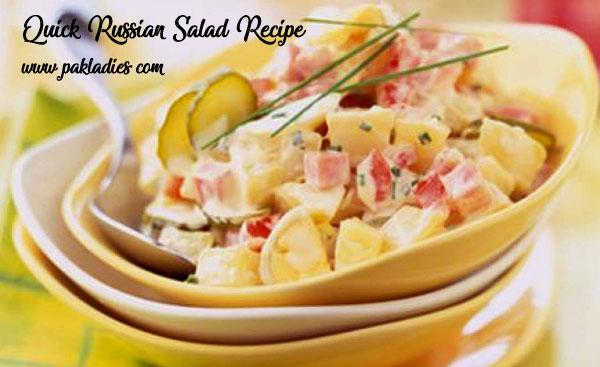 Quick Russian Salad Recipe