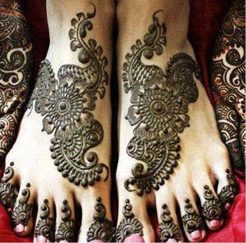 Wedding Mehndi Designs 2017