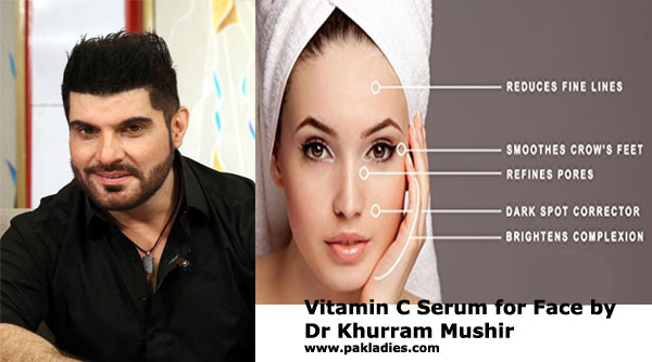 Vitamin C Serum for Face by Dr Khurram Mushir