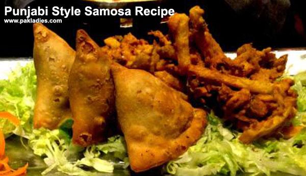Punjabi Style Samosa Recipe