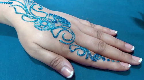 Color Mehndi Designs