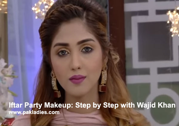Iftar Party Makeup Step By With