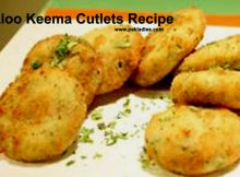 Aloo Keema Cutlets Recipe