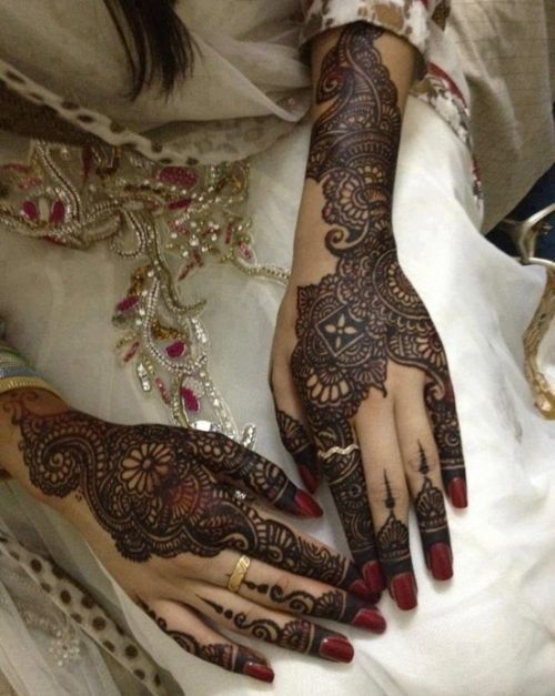 Bridal Mehndi Designs