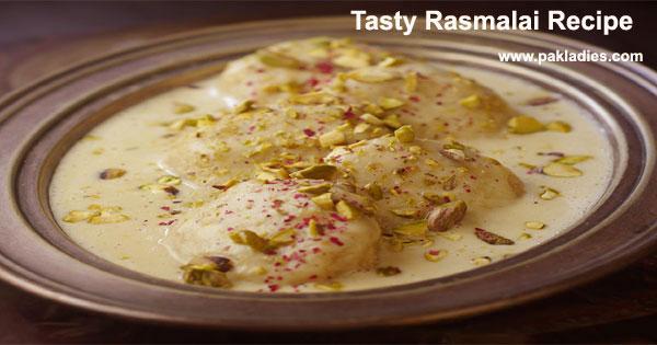 Tasty Rasmalai Recipe